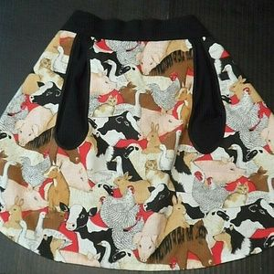 Other - Half Apron Waist Farmhouse Country Barn Animals